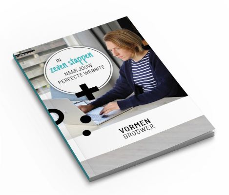 Ebook in 7 stappen naar jouw perfecte website